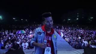 Live performance At  Emiway Bantai's Surat Show - Emiway x Kaminey / Maniba Party Plot