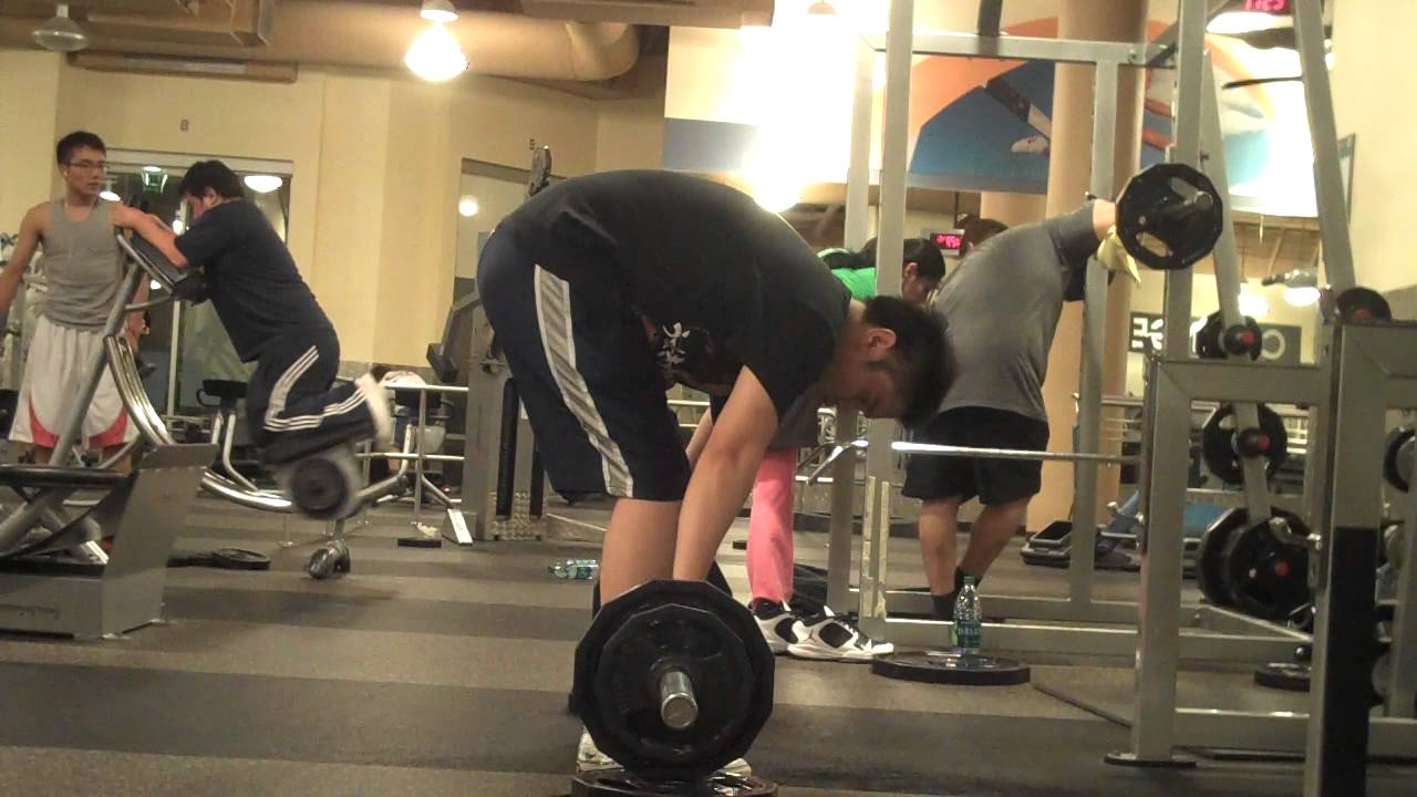 Form Check Barbell Row Stronglifts 5x5 - YouTube