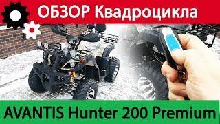 ОБЗОР КВАДРОЦИКЛА AVANTIS HUNTER 200 Premium. Достоинства и Недостатки.