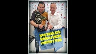 Karel Voříšek autogramiáda knihy Štěstí se dá naučit Knižní veletrh Praha 2017