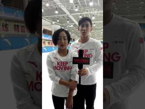 20160921 China Sports interview with Sui Wenjing & Han Cong