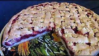 Сливовый пирог./ Пироги рецепты./ Слива рецепты./ Песочный пирог./ Вкусный сливовый пирог.