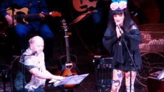 Happy Birthday to Eva Maria Hagen und Nina Hagen im Berliner Ensemble 19.10.15