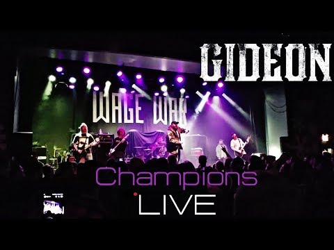 Gideon - Champions LIVE! HD Durty Nellies Palatine 2017 1080p 60FPS