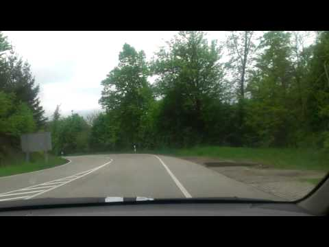 Driving in Black Forrest, Germany I