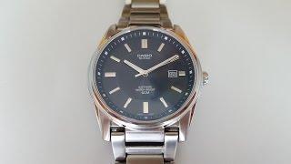Обзор часов с сапфировым стеклом CASIO BEM-111D-1AVEF. Sapphire crystal watch CASIO BEM-111D-1AVEF