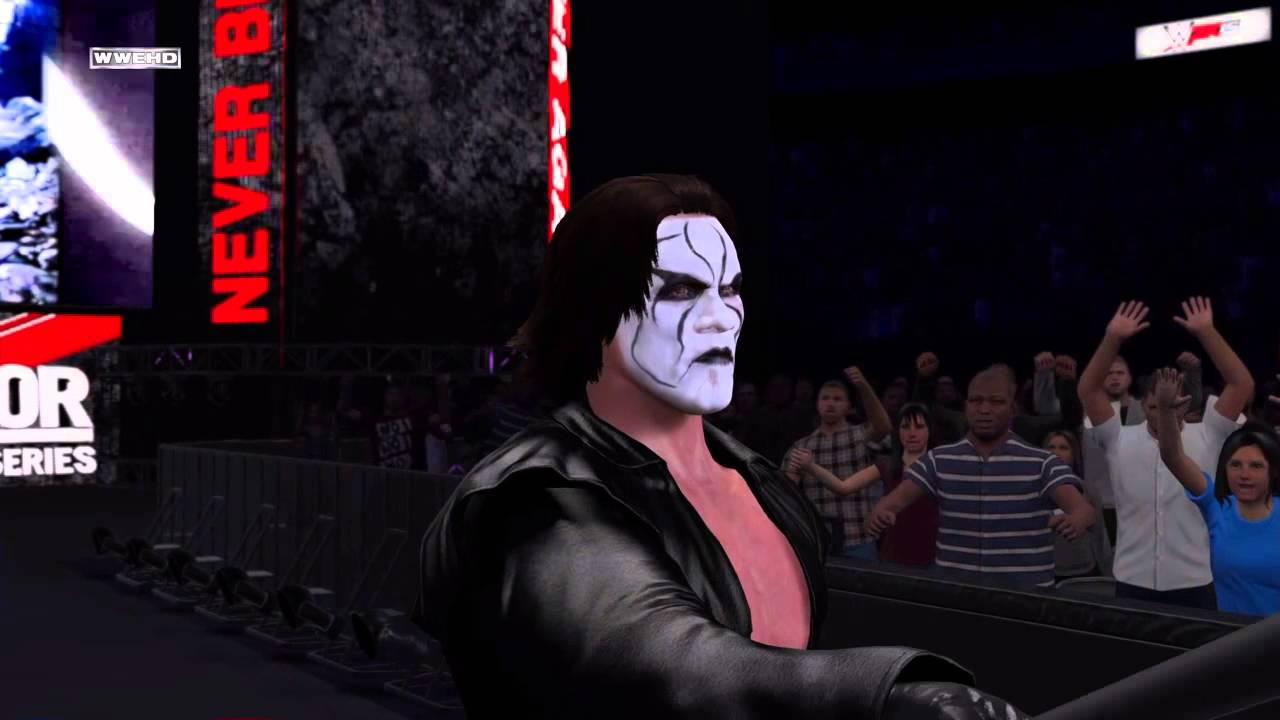 Sting's WWE 2K15 Entrance PS4 DLC - YouTube