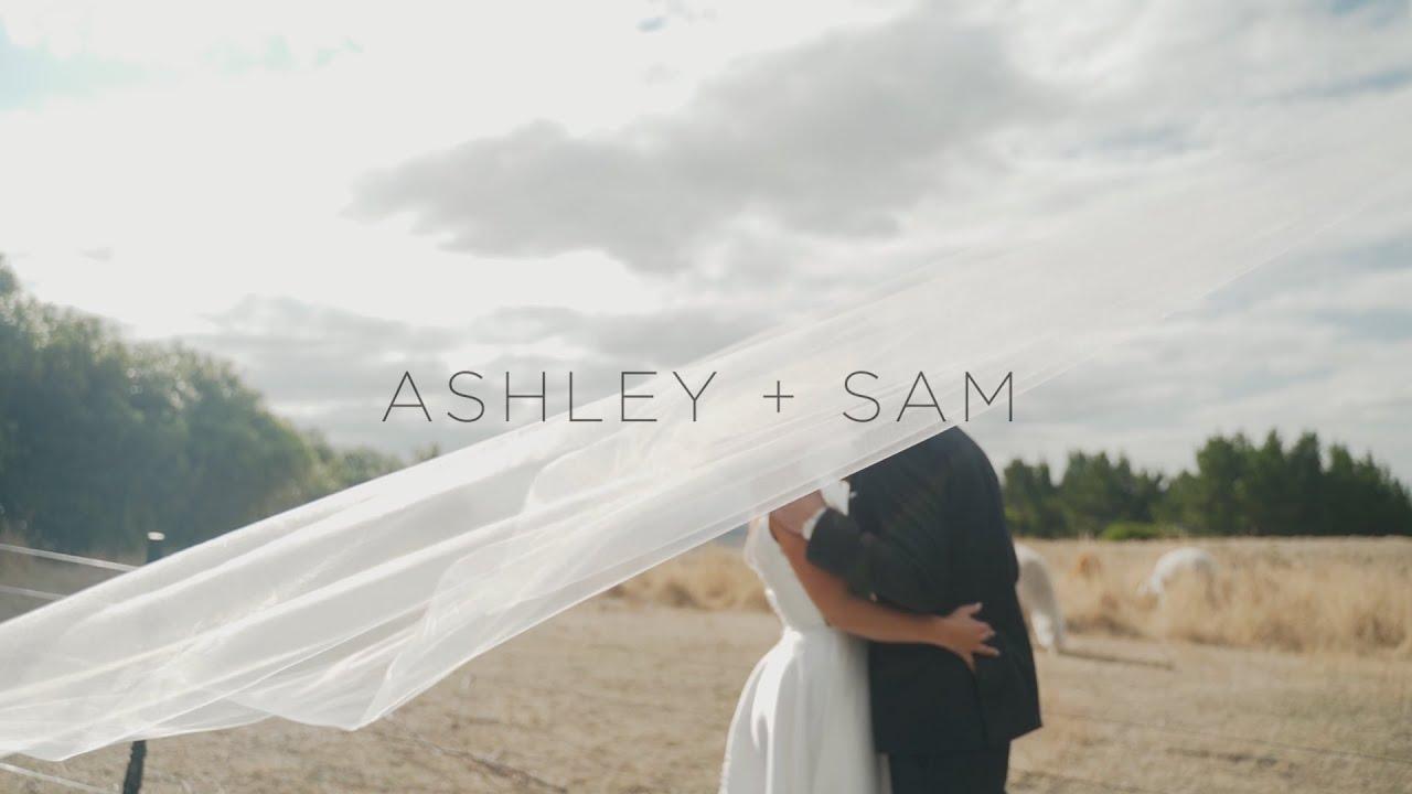 This is Ashley and Sam || Waipuna Estate || Cinematic wedding highlight film