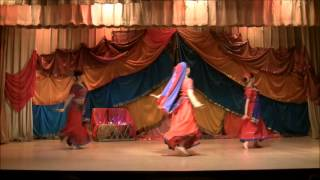 Retro bollywood dance. movie Karan Arjun