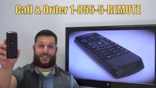 VIZIO XRT020 TV Remote PN: 098003061220 - www.ReplacementRemotes.com