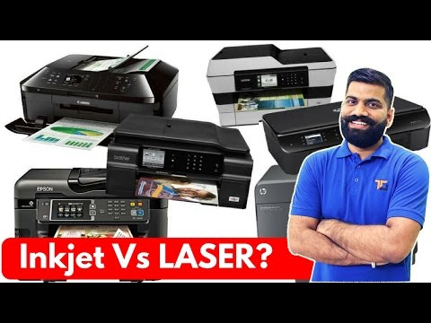 Inkjet Vs Laser Printers? Which one to buy?