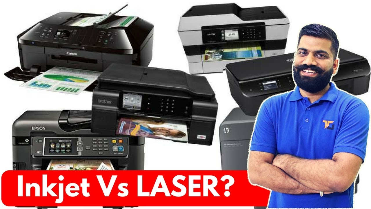Color printing inkjet vs laser - Inkjet Vs Laser Printers Which One To Buy