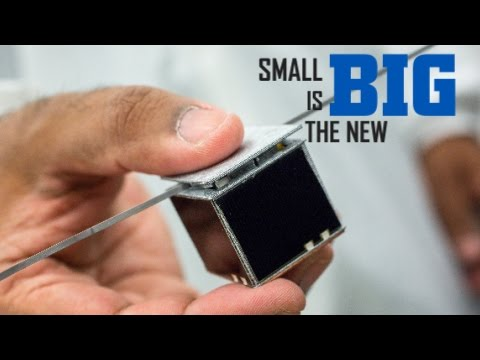 SMALL IS THE NEW BIG. How are small satellites changing the earth observation industry?