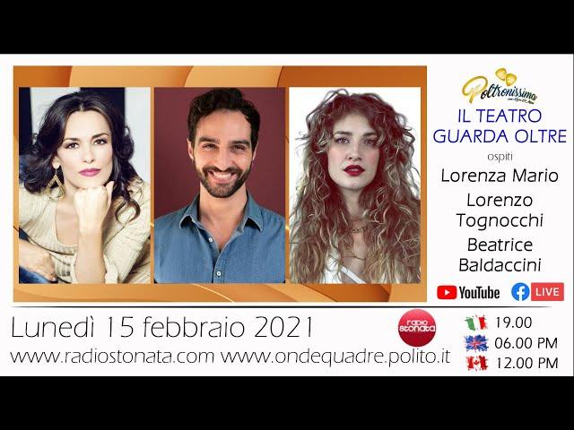 15.02.2021 - L. Mario, B. Baldaccini e L. Tognocchi ospiti in diretta a Radio Stonata