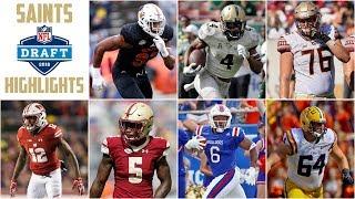 Saints Draft Highlights 2018ᴴᴰ