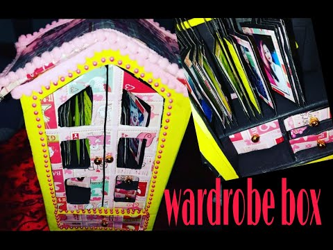DIY : Wardrobe gift box. Special gift box for your loved ones