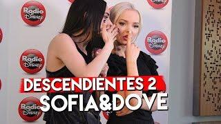 #Descendientes2 - Sofia Carson y Dove Cameron /RadioDisneyLA