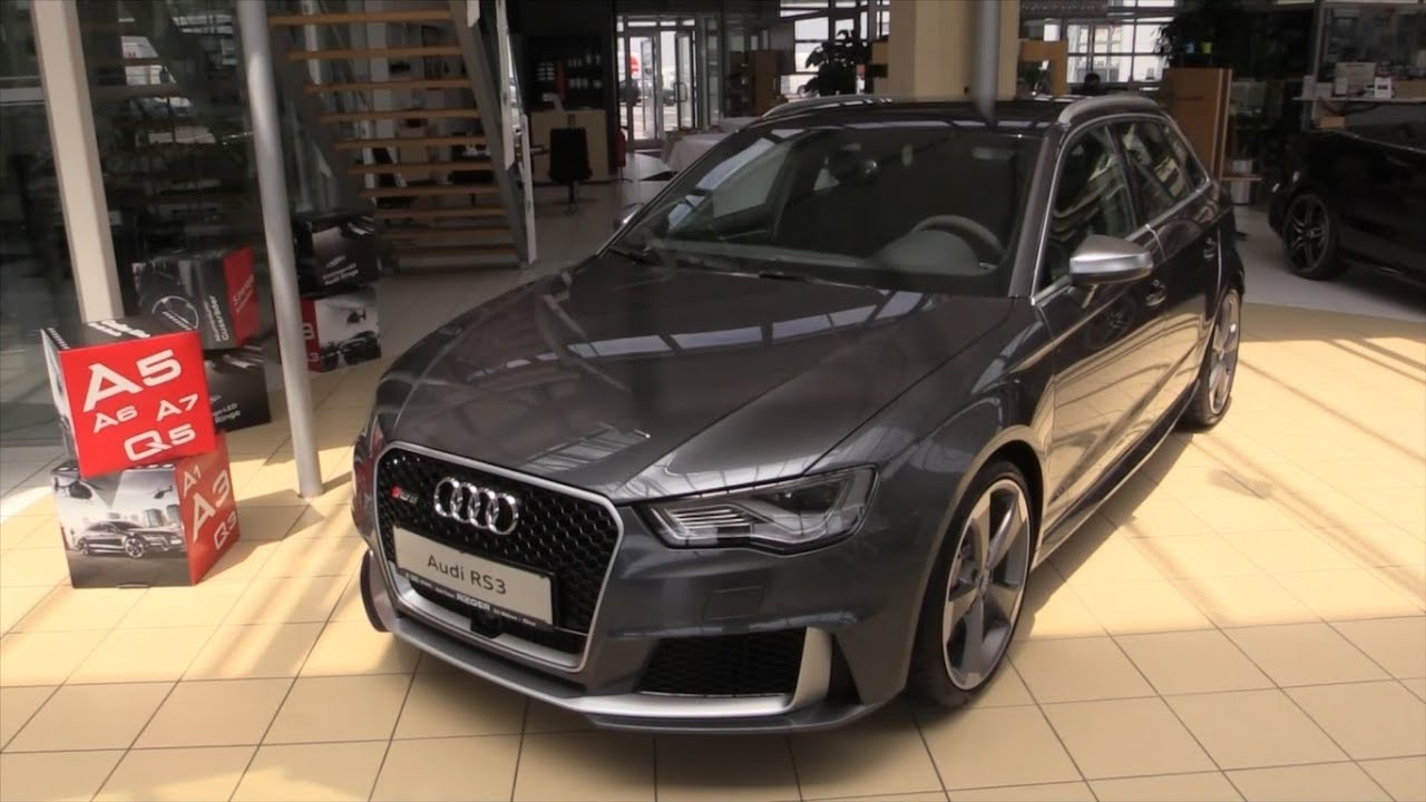 audi rs3 2016 in depth review interior exterior youtube. Black Bedroom Furniture Sets. Home Design Ideas