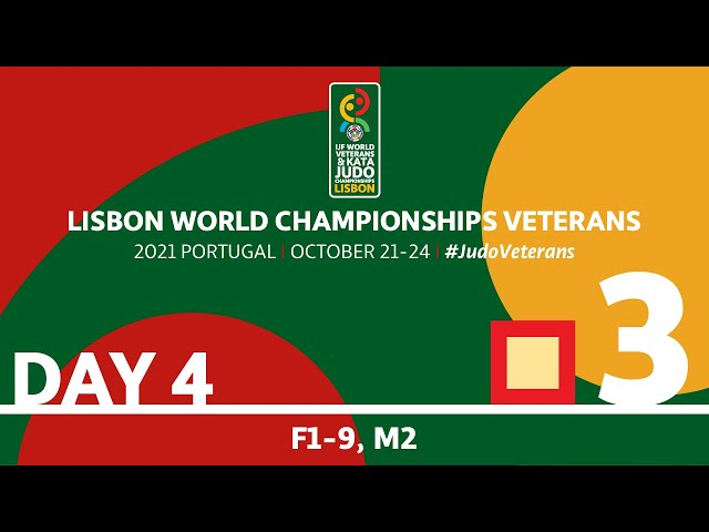 Day 4 - Tatami 3: World Championships Veterans 2021