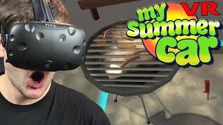 My Summer Car na VR? - FINSummerVR (HTC VIVE VR)