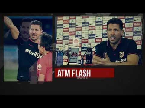 #ATMFlash. Rueda de prensa de Simeone antes del Atleti-Barcelona