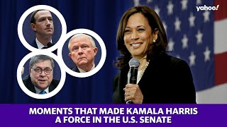 The moments that made Kamala Harris a force in the U.S. Senate