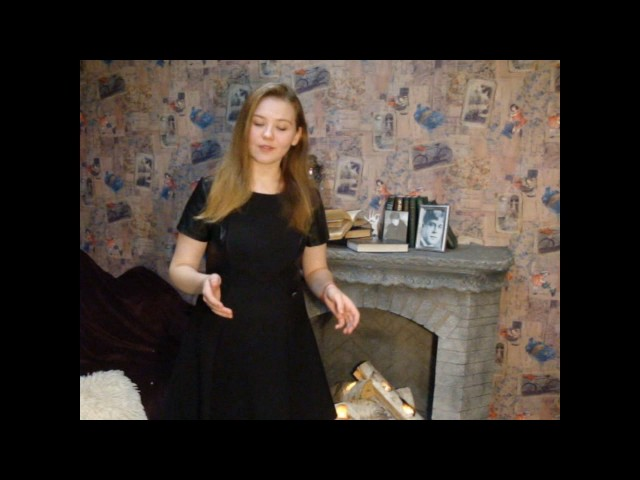 Изображение предпросмотра прочтения – АнастасияЛоктева читает произведение «Письмо к женщине» С.А.Есенина