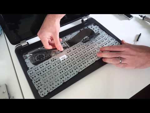 HP Pavilion 15-n290sa HDD Replacement/SSD Upgrade Guide