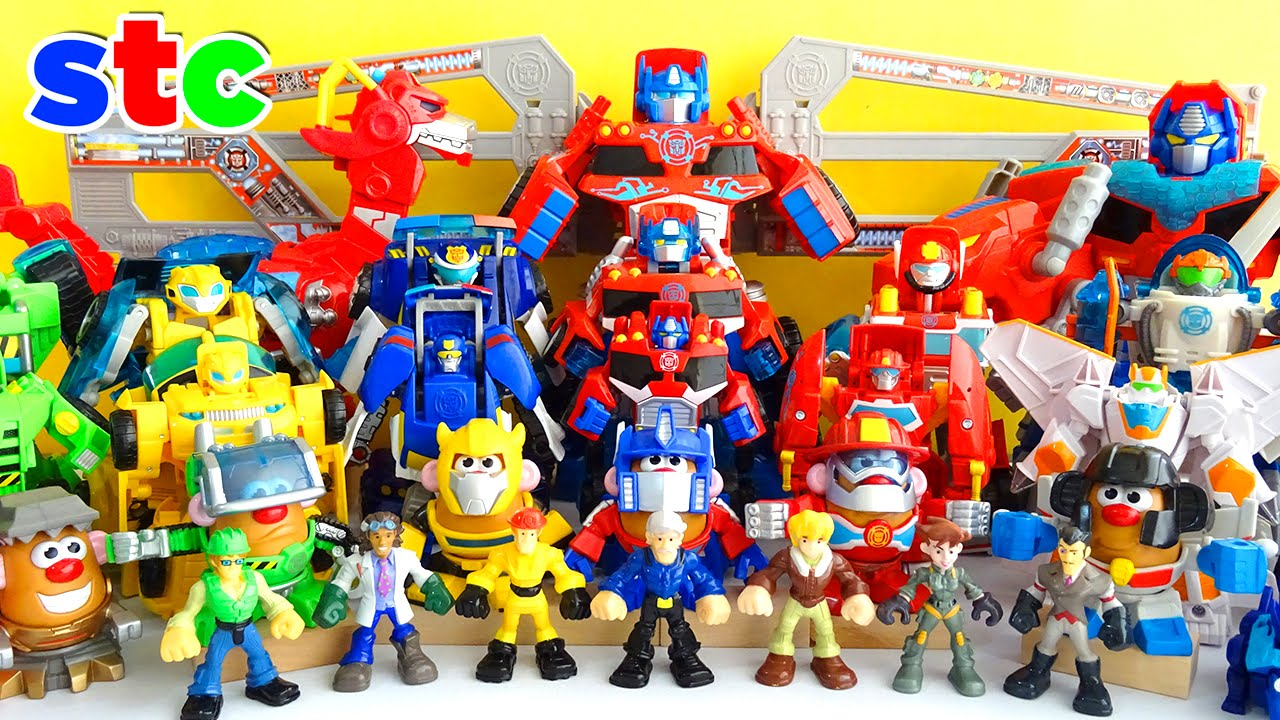Playskool heroes transformers rescue bots collection youtube