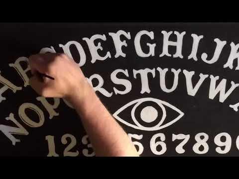 Ouija board table time lapse