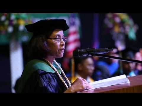Commencement   Spring 2016 - Her Excellency Dr. Hilda Heine, Commencement Speaker