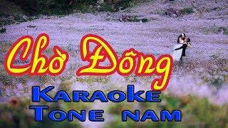 Karaoke Chờ Đông Karaoke tone nam