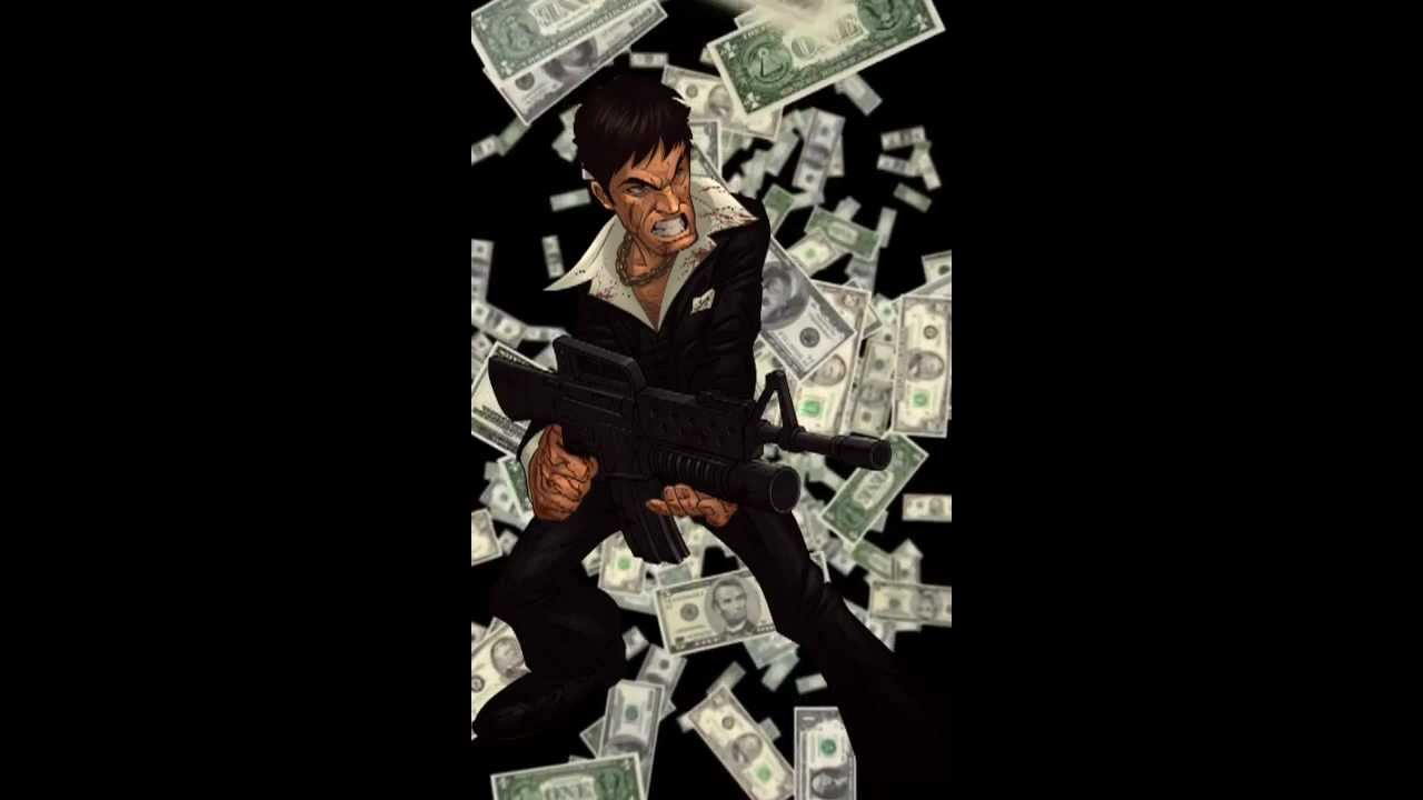 scarface money live wallpaper youtube