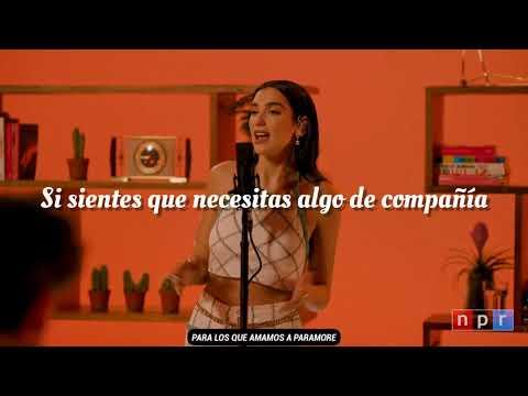 Dua Lipa – Levitating /Español (Tiny desk conciert)