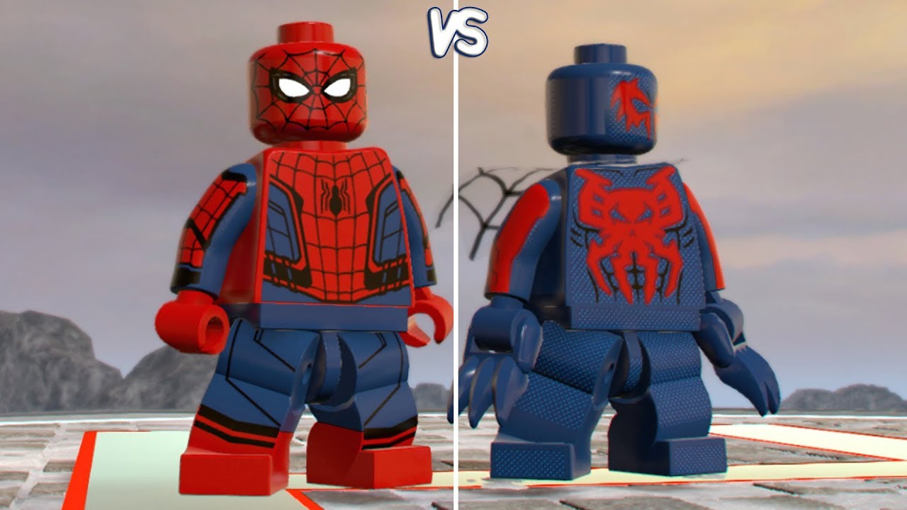LEGO Marvel Super Heroes 2 - Spider-Man vs Spider-Man 2099 ...