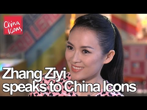 Zhang Ziyi, speaks to China Icons  China Icons video