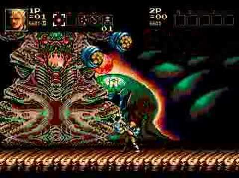 """Download Contra: Hard Corps """"Queen"""" Boss (End)"""