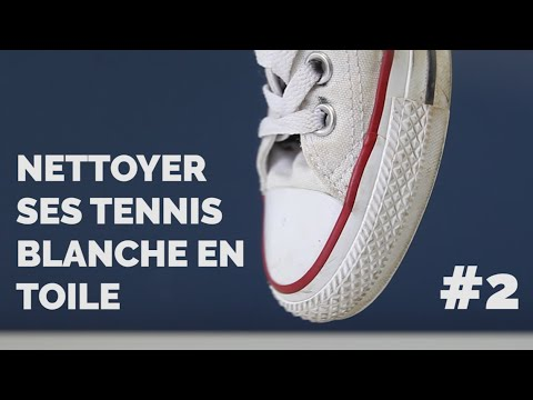 nettoyer ses tennis blanches en toile episode 2 youtube. Black Bedroom Furniture Sets. Home Design Ideas