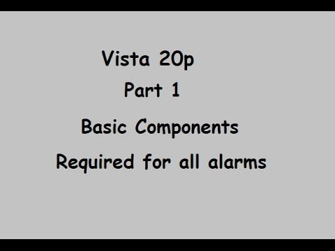 Vista 20P Part