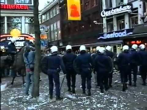 Ajax hooli Leidseplein!!!