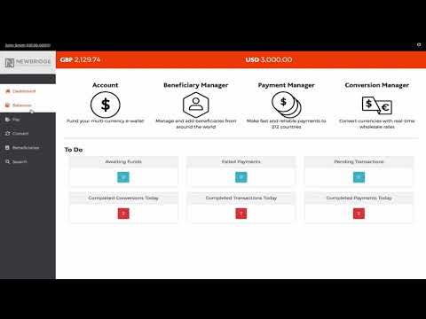 NewbridgeFX - Online Platform Demo
