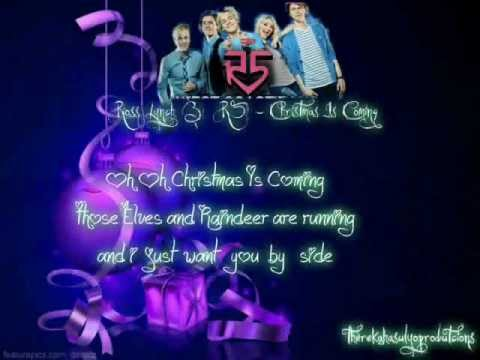 Download Ross Lynch and R5 - Christmas Is Coming LyricsVideo(therekahasulyoProductions 2012)