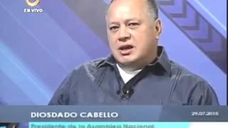 Diosdado Cabello en Globovisión .1989, 4F, FANB, Eequibo, OLP, Antiimperialista. Venezuela,