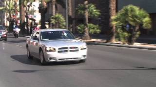 US Marshal Unmarked Silver Dodge Charger Code 3