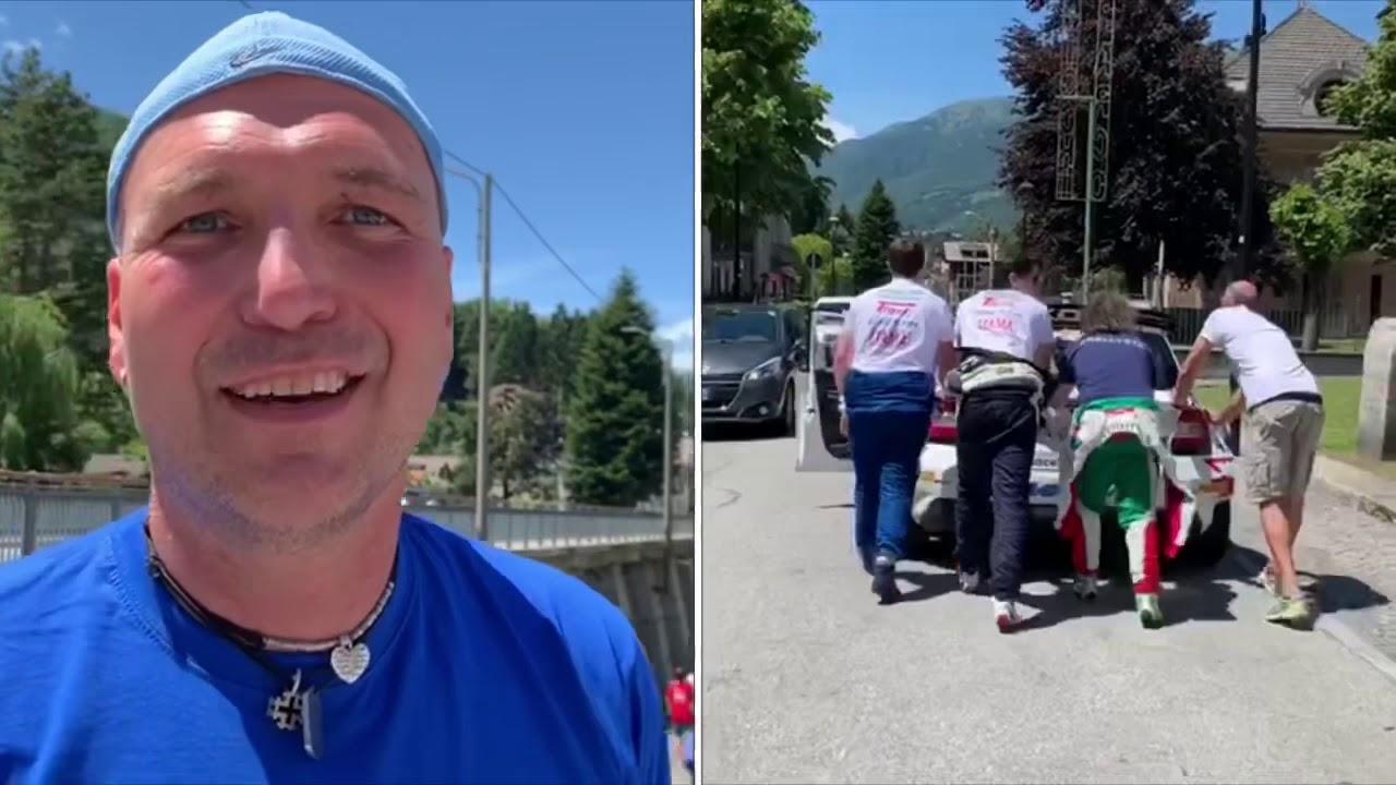 Massimo Margaroli si ritira dal 55 Rally Valli Ossolane