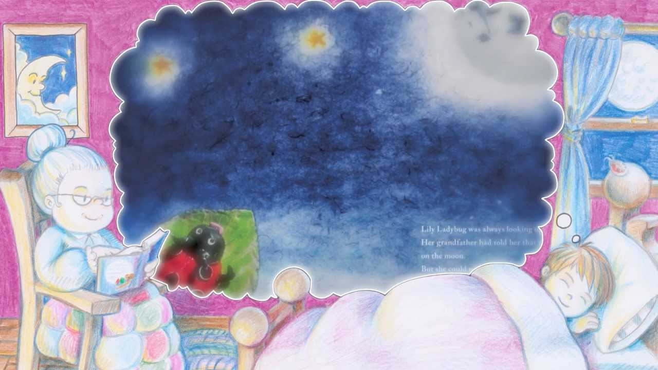 Bedtime Story   Lily and the Moon   Toddler   Baby   ELF Learning