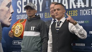 Selby and Warrington come head-to-head | Press conference best bits