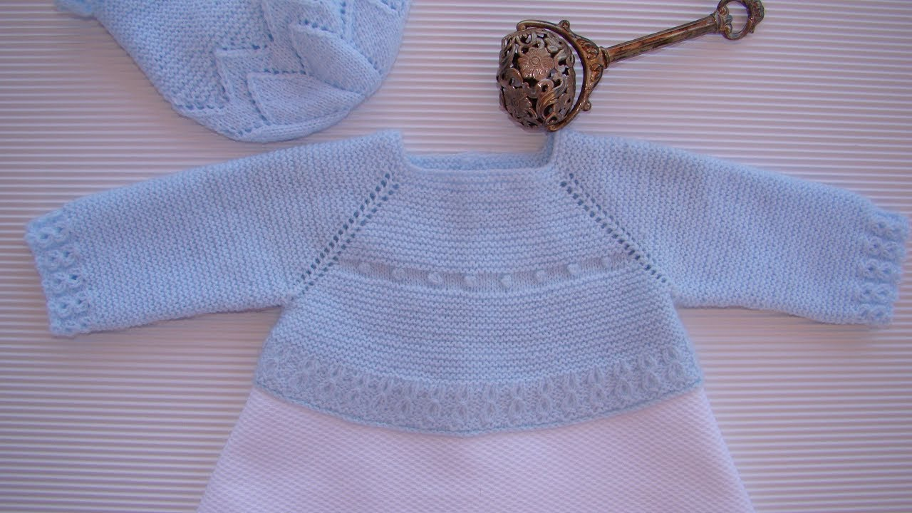 8076c0163 JERSEY PARA FALDÓN BABY JERSEY ESPAÑOL ENGLISH PATTERN - YouTube