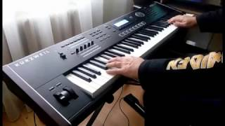"Андрей Морозов - ""Deeper Underground"" (keyboard solo cover) Kurzweil pc3le7"