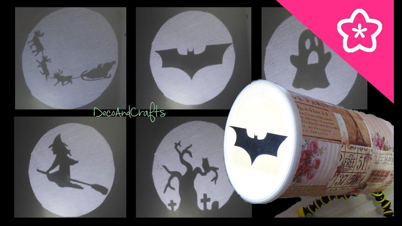 Lampara de sombras Batman Halloween Trineo de Santa - DIY ...